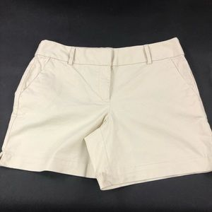 Loft Women's Cream Shorts 8